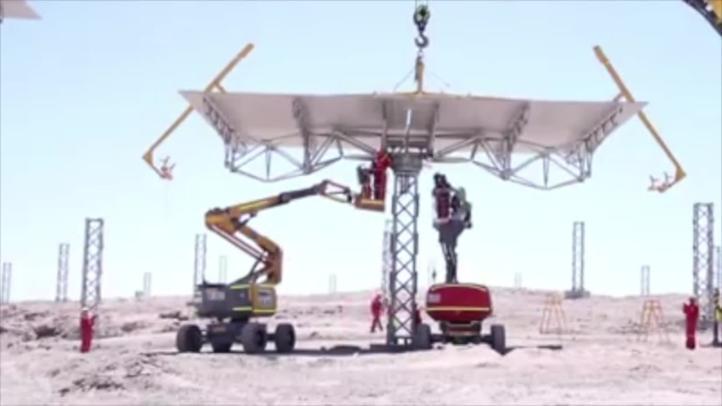 Desierto de Atacama alojará primera planta termosolar de América Latina