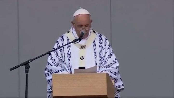 Llama el Papa a la unidad en AL