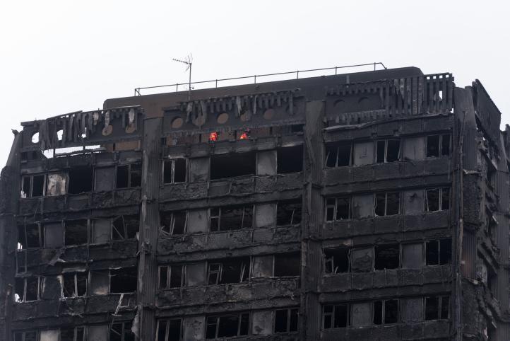 Una vecina de la Torre Grenfell transmitió en vivo durante el incendio