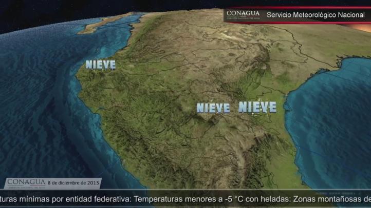 Pronóstico del tiempo para el 8 de diciembre