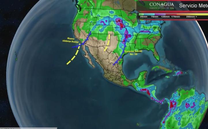 Pronóstico del tiempo para el 27 de abril