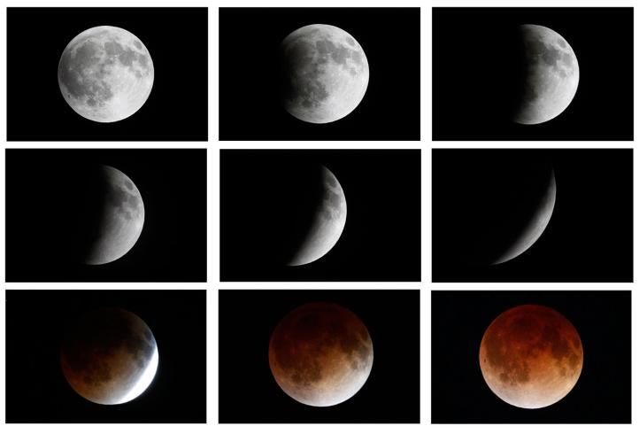 "Millones se deleitaron en América al observar la ""Luna Roja"""