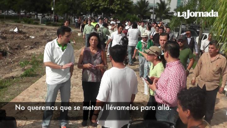 Tajamar: Ambientalistas rechazan a legisladores del PVEM