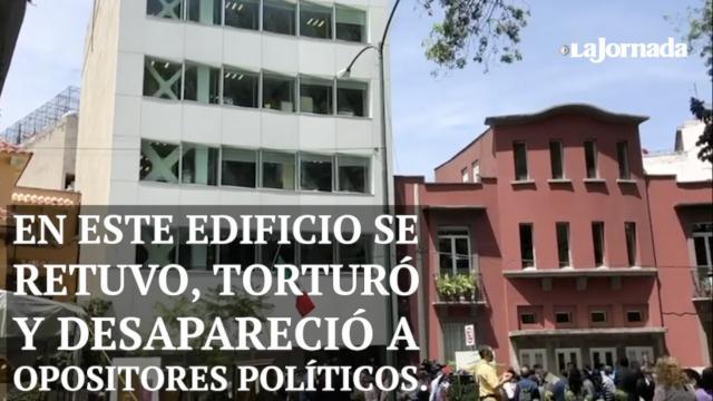 Abren memorial de la represión en sede de antigua policía política