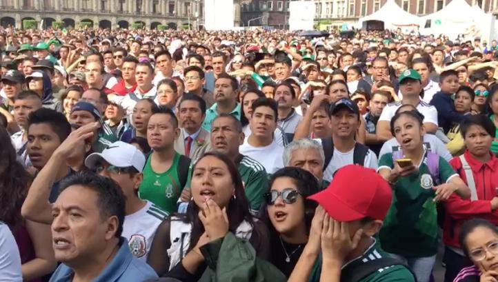 México, de panzazo en los octavos