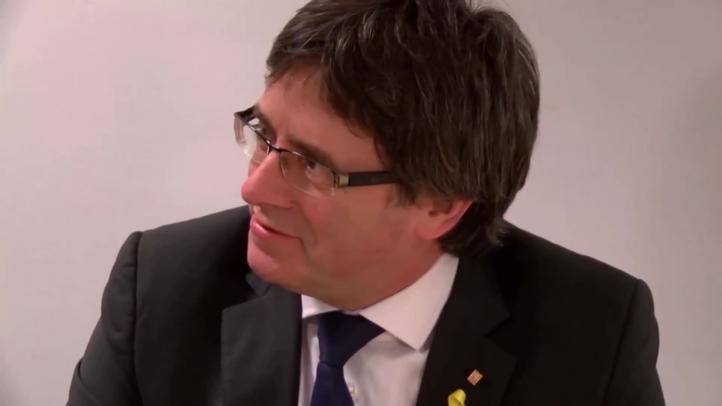 Retiran orden de extradición a Puigdemont