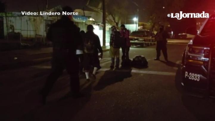 Retiran campamento migrante frente a deportivo en Tijuana