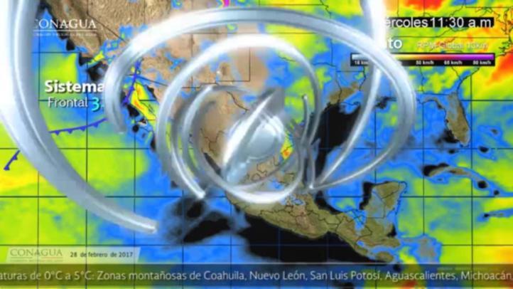 Pronóstico del tiempo para el 28 de febrero