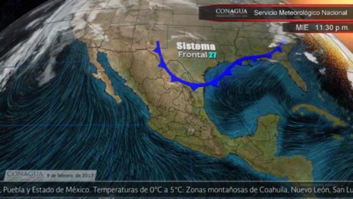 Pronóstico del tiempo para el 9 de febrero