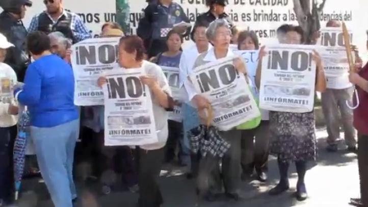 Vecinos protestan contra proyecto Ciudad del Futuro