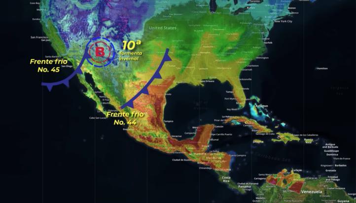 Pronóstico del tiempo para el 13 de marzo de 2019