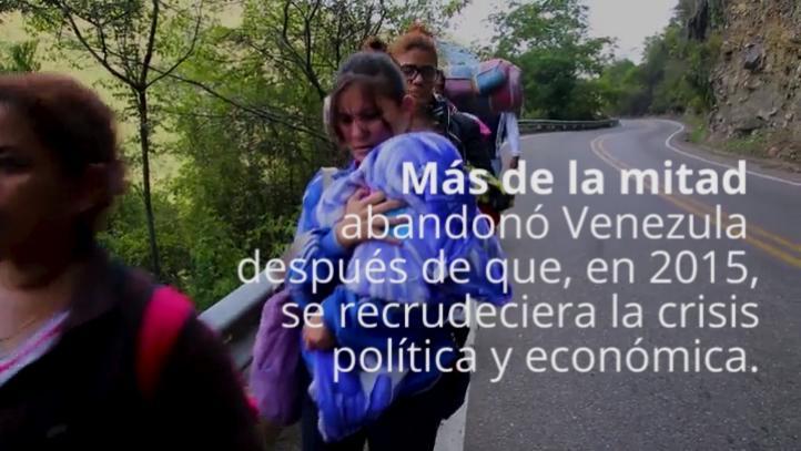 Continúa el éxodo de venezolanos hacia Colombia