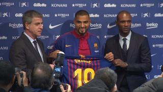 Barcelona presenta a su nuevo fichaje Kevin-Prince Boateng