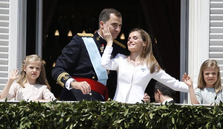 El rey Felipe VI apela a la unidad dentro de la diversidad