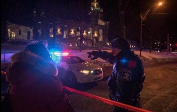 Ataque en mezquita de Quebec