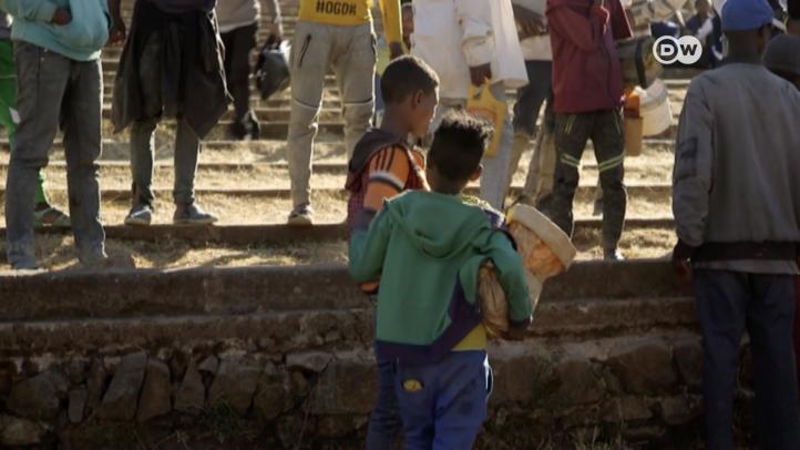 ONG ayudan a niños de la calle en Etiopía
