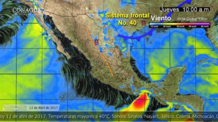 Pronóstico del tiempo para el 12 de abril