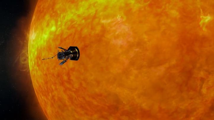 Parker comienza su viaje al Sol
