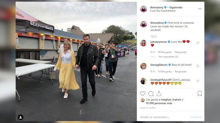 Olivia Newton-John y John Travolta vuelven a ser Sandy y Danny de 'Vaselina'