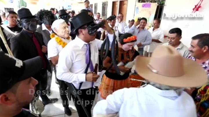 "En Oaxaca celebran la vida y la muerte con la ""muerteada"""