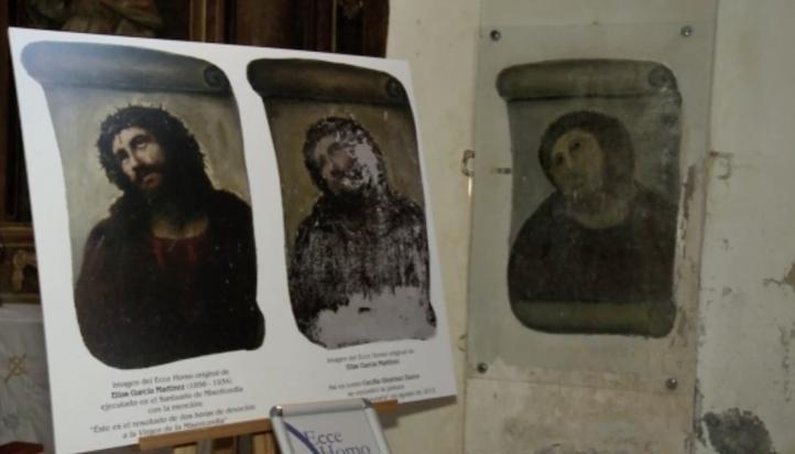 Ecce Homo: de restauración fallida a atractivo turístico