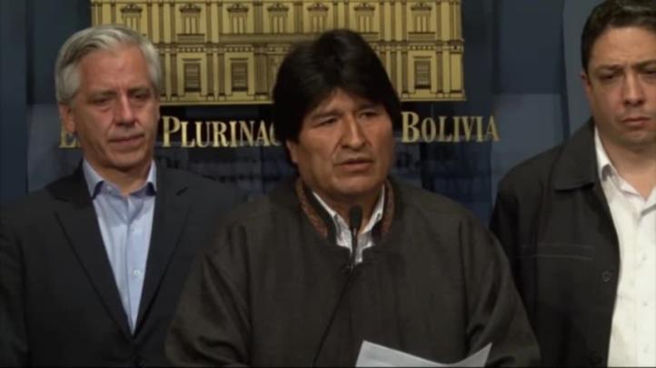 Denuncia Evo Morales conspiración tras crimen de viceministro