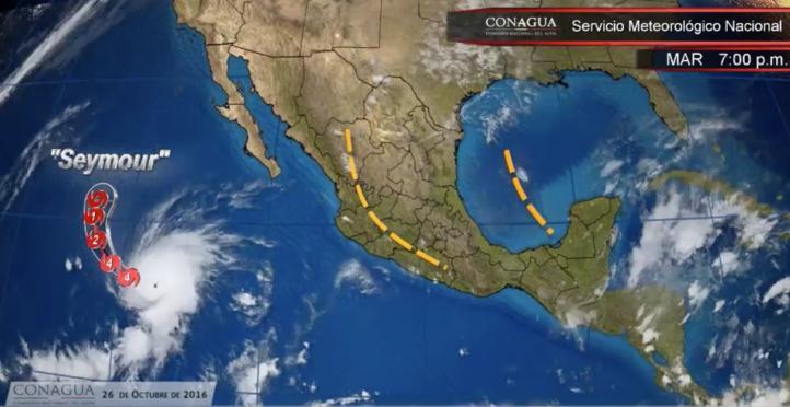 Pronóstico del tiempo para el 26 de octubre