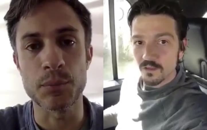 Diego Luna y Gael García piden a EPN vetar Ley de Seguridad Interior