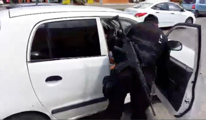 Operativos de seguridad en carreteras en Tamaulipas