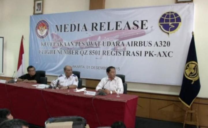 Pieza defectuosa causó accidente de Air Asia