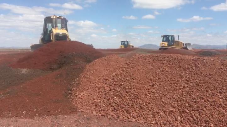 Inicia la construcción de dos pistas en el Nuevo Aeropuerto Internacional de la CDMX