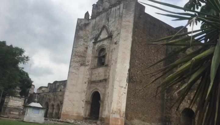 Ex convento de Tlayacapan presenta severas afectaciones