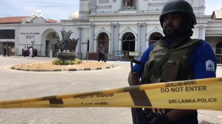 Luto por los muertos de Sri Lanka
