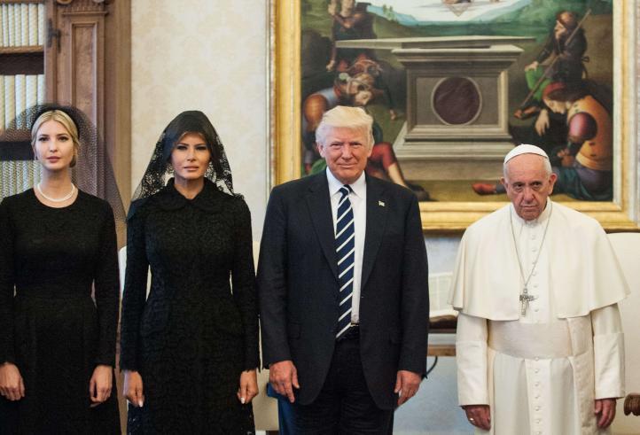 Donald Trump y Francisco se reúnen en el Vaticano