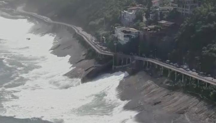 Se colapsa ciclopista en Rio de Janeiro