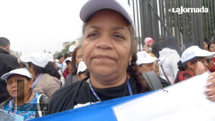 Testimonio de la madre de un hondureño desaparecido tras ser detenido en retén policial